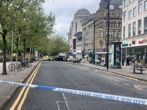 Manchester'da 'şüpheli paket' alarmı