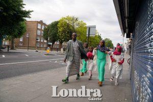 Londoners gathered for morning Eid prayer