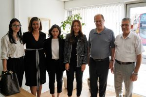 Kıbrıs'ın köklü inşaat firması Özyalçın'dan Londra Gazete'ye nezaket ziyareti