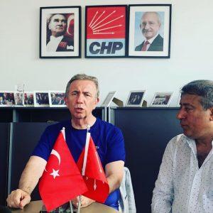 Mayor of Ankara Mansur Yavaş visited London