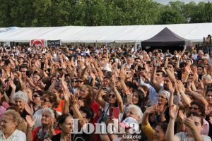 Thousands of people attended the 9th British Alevi Festival
