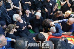 Barış Küçük'ün cenazesine binlerce kişi katıldı