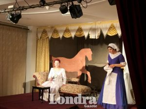 'Near enough Lady Elizabeth' performed on stage at Day-Mer