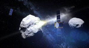 Dünya'nın yakınından geçen çifte asteroid görüntülendi