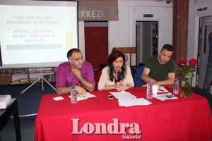 """""""Political Justice, the New Era and the Kurdish Issue"""" panel took place at BAF"""