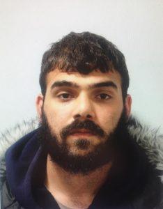 Berken Akcan sentenced for carrying a knife