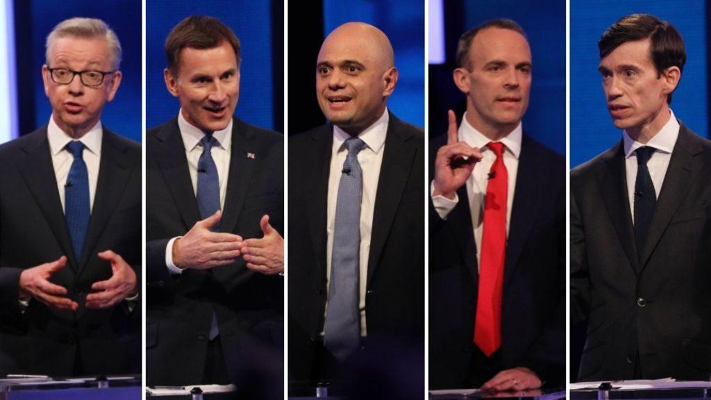 Başbakan adayları TV'de tartıştı, Johnson katılmadı