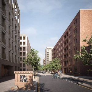Plans for 400 new homes in Hackney