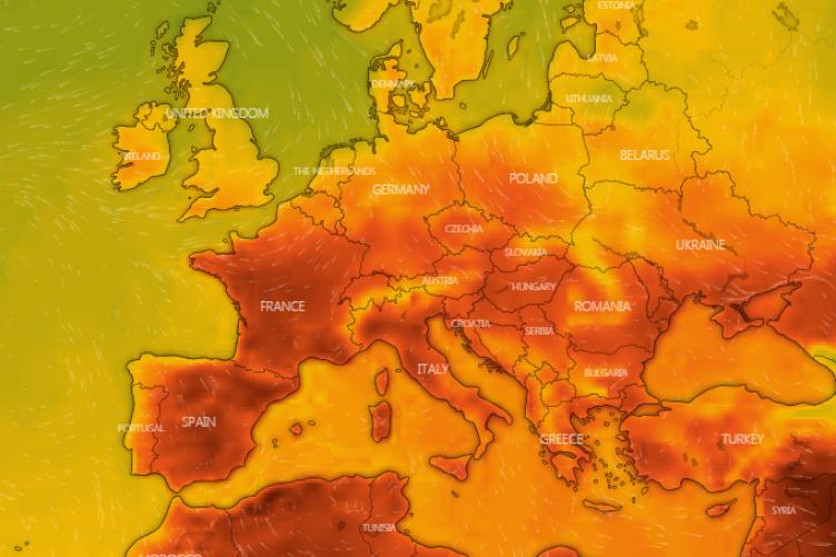 İngiltere 'yanıyor' Londra'da hava 34 dereceyi görecek