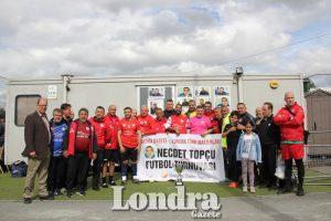 Hundreds joined for Necdet Topçu memorial tournament