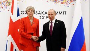 May'den Rus lideri Putin'e uyarı: Agresif davranışlarını durdurmalısın