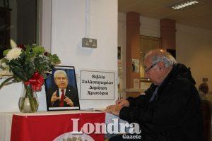 Kıbrıs Toplum Merkezi'nden, Hristofyas'a veda defteri