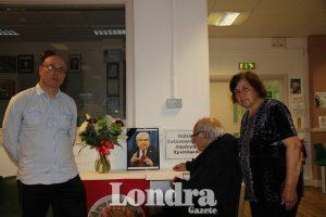 A book of condolence arranged for Christofias