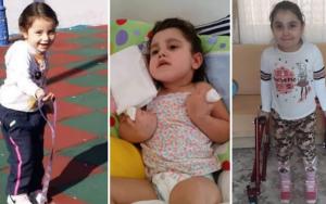 KKTC'de yaşayan minik Seval, tedavisi için 'maddi yardım' bekliyor
