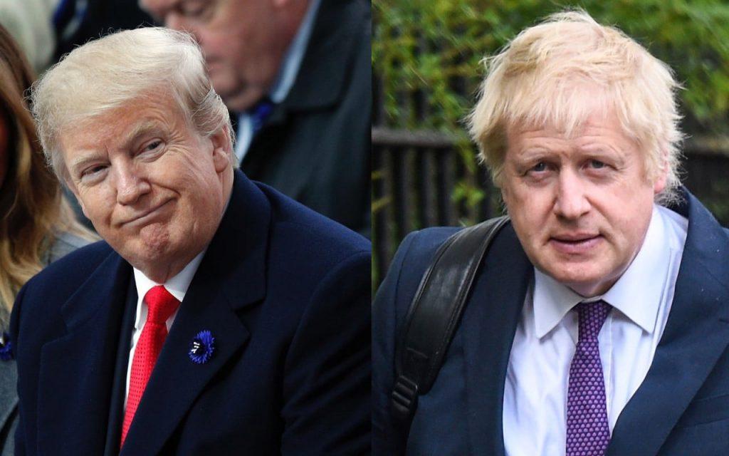 Boris, Trump'ın görüşme isteğini reddetti