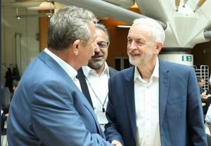 The Mayor of Ankara met with Jeremy Corbyn
