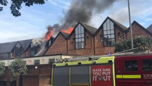 125 firefighters are tackling blazing fire at Walthamstow Mall