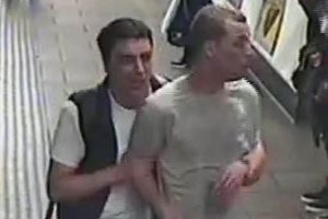 Manhunt launched after two men released 'tear gas'  onto packed Tube train carriage
