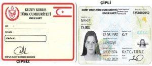 """KKTC Nüfus Kayıt Dairesinden: """"kimlik kartları açıklaması"""""""