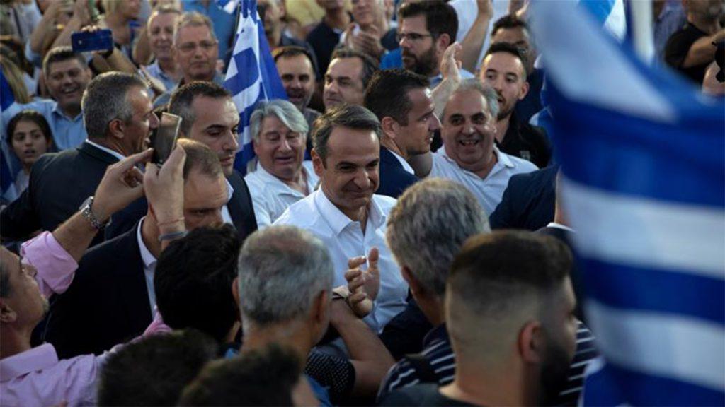 Yunanistan'ın yeni lideri Miçotakis bugün Kıbrıs'a gidiyor