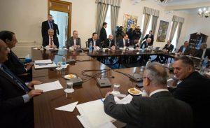 """Rum siyasi parti başkanları toplantısı sona erdi…""""Akıncı'nın önerisi kabul edilemez"""""""
