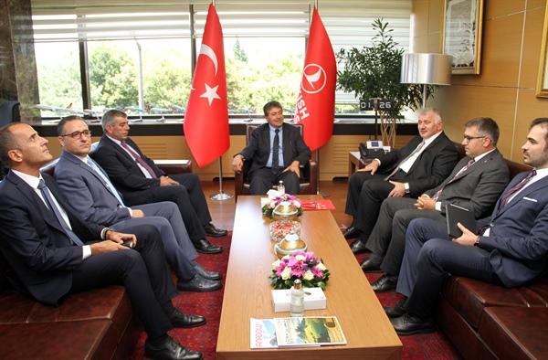 KKTC Turzim ve Çevre bakanı Üstel İstanbul'da temaslarda bulunuyor