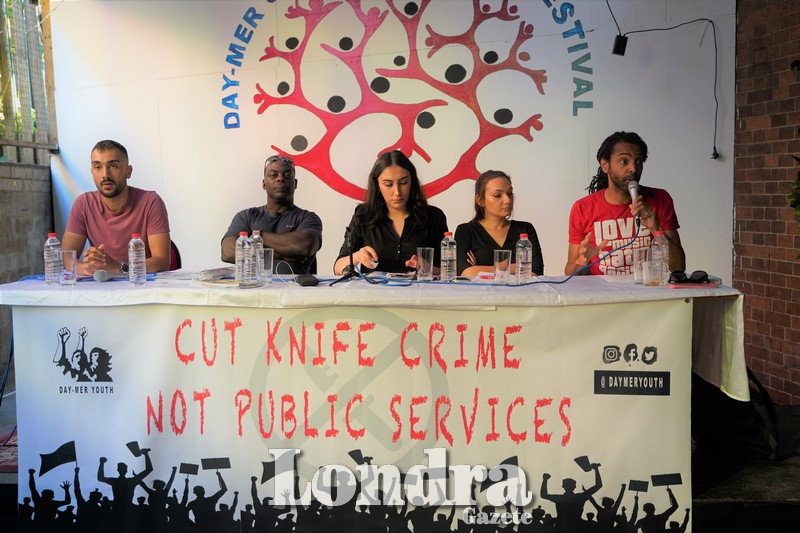 Day-Mer Youth Commission organised a panel on knife crime