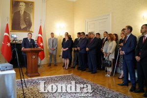 Büyükelçilikte 15 Temmuz anması gerçekleşti