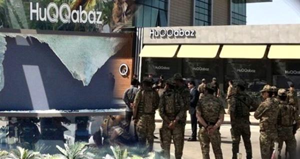 Erbil'de silahlı saldırı
