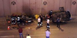 Konya'da iki otomobil çarpıştı: Çok sayıda ölü var