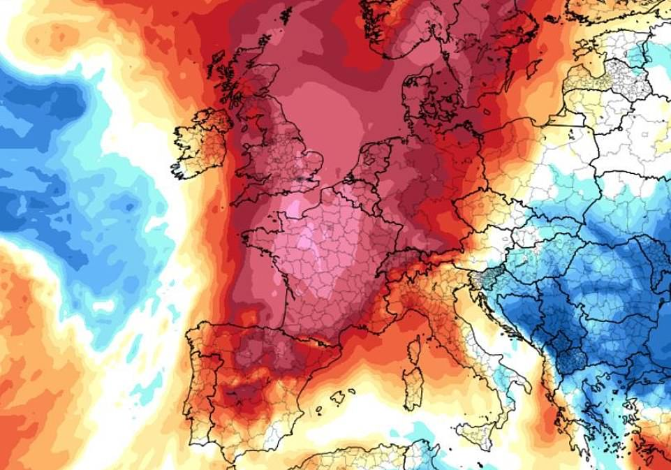 Today set to be the hottest day EVER recorded