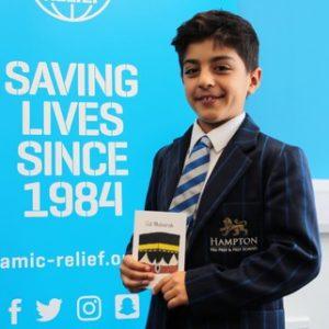 9-year-old boy Turkish boy raises more than £5000