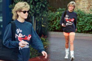 Prenses Diana'nın sweatshirt'ü açık artırmayla 42 bin 739 pounda satıldı