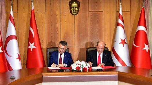 KKTC ile TC arasinda protokol imzalandı