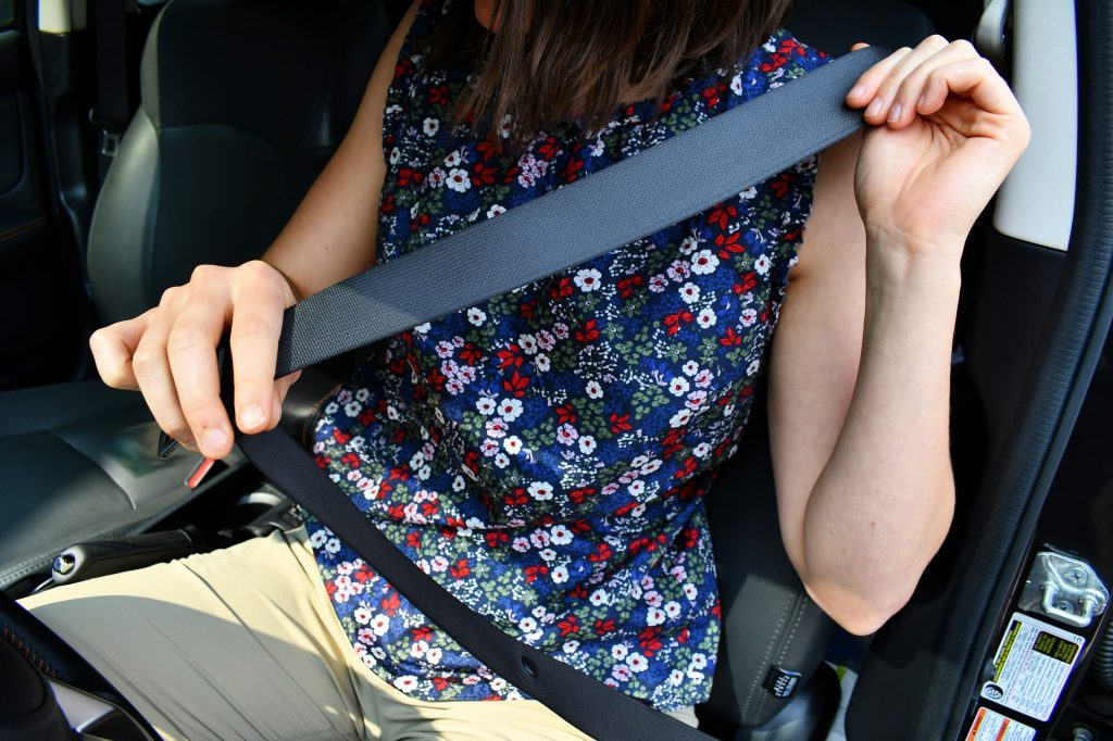 Driver face penalty point for not wearing their seat belt