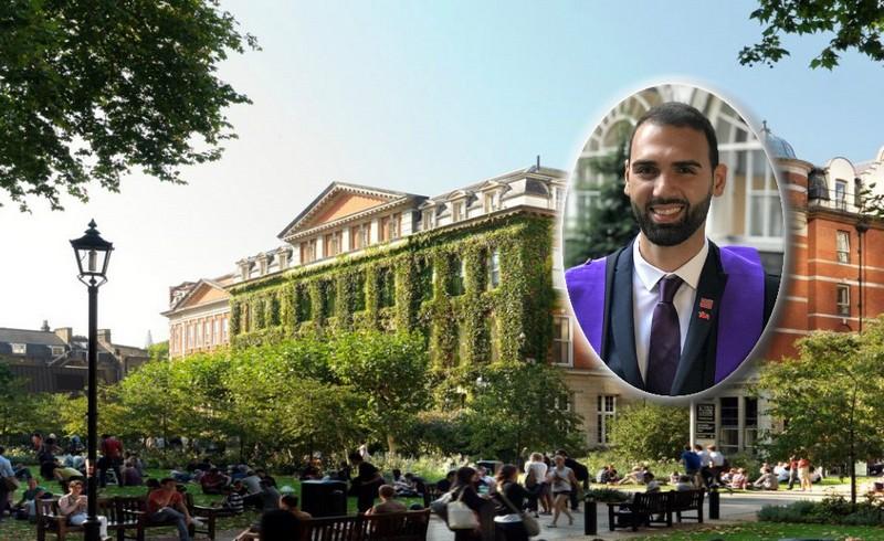 Serkan Hussein tıp fakültesinden derece ile mezun oldu