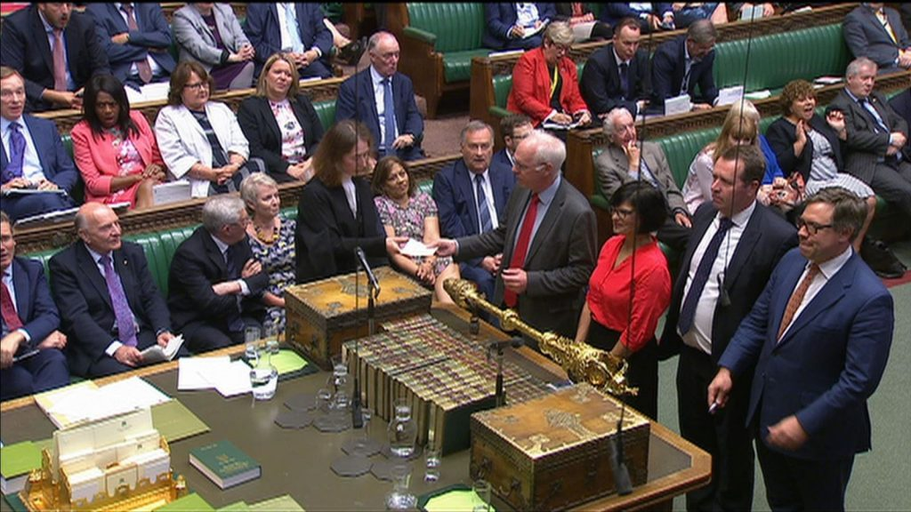 MPs vote to block a Parliament shutdown