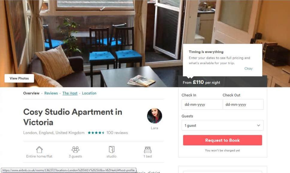 Belediye evini Airbnb ile kiralayan kişiye 100 bin pound ceza