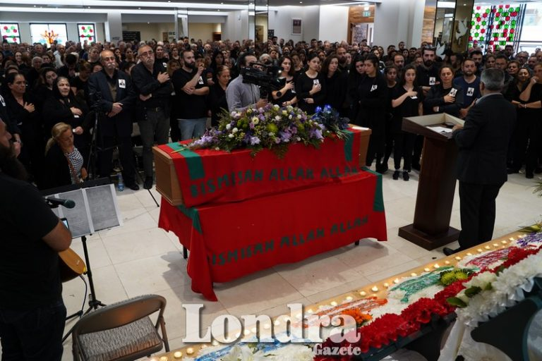 Tugay Hurman için cenaze töreni düzenlendi