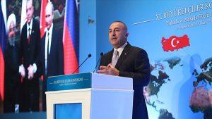 """Çavuşoğlu'ndan Akdeniz'de işbirliği çağrısı: """"Gelin bölgenin refahı için birlikte çalışalım"""""""