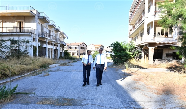 TC  Adalet Bakanı Gül'den kapalı  Maraş'a ziyaret