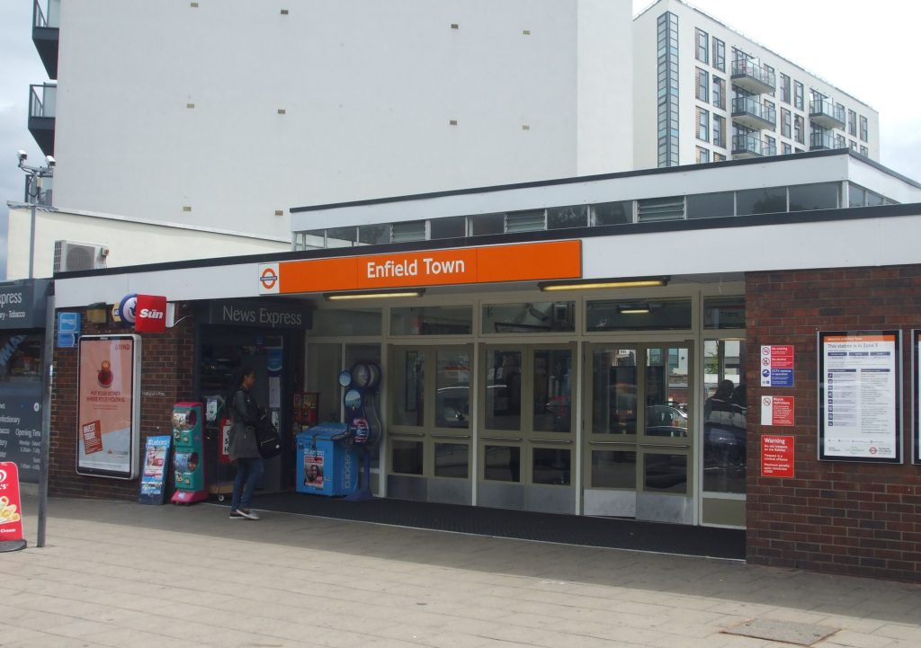 Two arrested after machete attack at Enfield Town Station