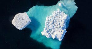 Grönland'da temmuz ayında 179 milyar ton buz eridi