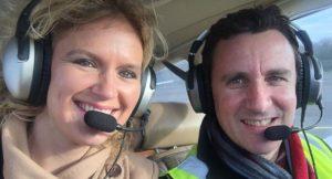 Müzisyen çift ve bebekleri uçak kazasında hayatını kaybetti