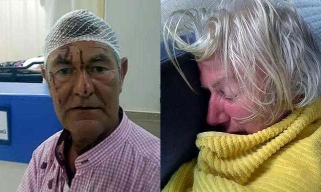 İrlandalı çift, komşu dehşetini yaşadı