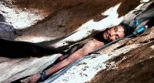 Mağarada mahsur kalan adam 4 gün sonra kurtarıldı
