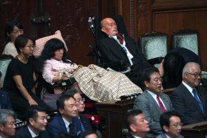 Japonya'nın ilk 'ağır engelli' milletvekilleri parlamentoda