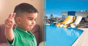 Holiday tragedy: 4-year-old Başer drowned in hotel's water park