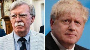Boris Johnson ile John Bolton Londra'da bir araya geldi