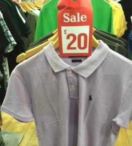 Charlies Casual Wear in Tottenham fined £1260 for counterfeit clothing